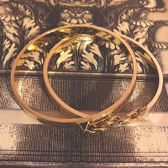 Victoria's Secret Double Bangle Handcuff Bracelets
